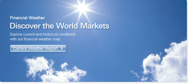 Financial Weather – Discover the World Markets